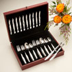 60-Pc. Stainless Place Settings in FREE Chest (Service for 12)